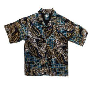 astarlı pamuk saten gömlek