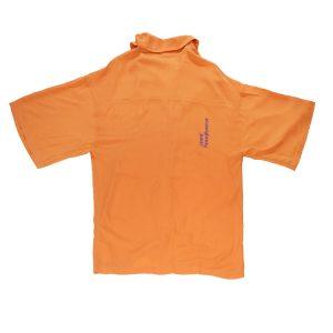 sevdrus turuncu gömlek viskon unisex